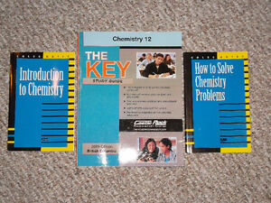 High School Chemistry Study Guides
