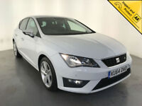 2014 64 SEAT LEON FR TDI AUTOMATIC DIESEL 1 OWNER SERVICE HISTORY FINANCE PX