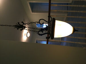 3 Ceiling Chandeliers - $45 each