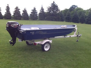 14' boat package
