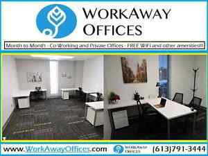 Co-Working, Private Offices & Desks
