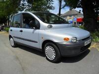 FIAT MULTIPLA 1.6 16v 100 SX 2002 6 SEATER COMPLETE WITH M.O.T HPI CLEAR