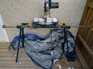 "10"" Miter Saw with Stand"