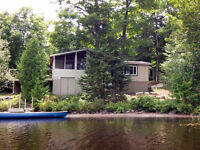 100' Waterfront Cottage on Foote Lake