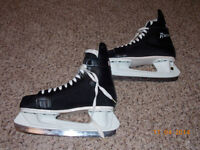 CCM Rapide Black Figure Ice Skates Men's Size 9