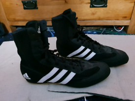 Adidas boxing shoes boots size 9.5