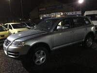 2004 VOLKSWAGEN TOUAREG 2.5 TDI 5dr Auto JUST SERVICED FSH CRACKING VALUE