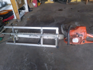 Chain saw and mill for sale
