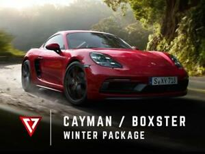 Porsche CAYMAN / BOXSTER 718 Winter TIRE + WHEEL Package - T1 Motorsports