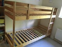 IKEA bunk beds with mattresses-Free delivery