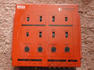 BOSS Competition Series Crossover Network Multi Channel US-CR210