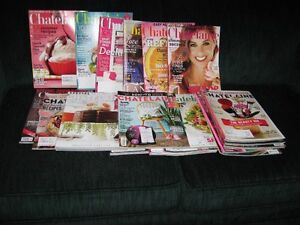 24 chatelaine magazines-great reading, 2012 and 2013