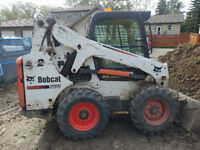 Bobcat and Operator for rent $75 an hr