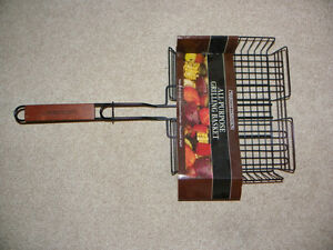 All purpose BBQ grilling basket - Brand new
