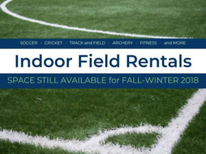 10,000 sqft of Artificial Turf Fields Available for Rent