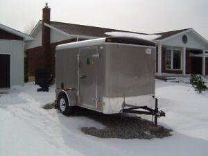 2012   6x10 enclosed trailer air lite american