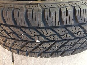 Good Year Ultra Grip Snow Tires