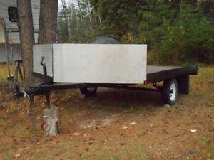 8'X12' Snowmobile/ATV trailer