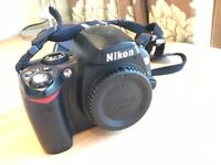 Nikon D40x camera (body only) - excellent condition