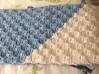 Original handmade crochet blanket