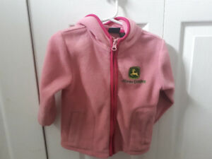 John Deere Fleece Jacket - Sz 18m
