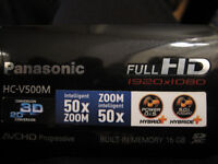 Panasonic HC-V500M Camcorder for sale.