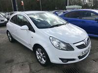 57 REG Vauxhall Corsa 1.2i 16v SXi !! WHITE !!