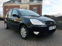 Ford Fiesta 1.6I 16V GHIA (black) 2005