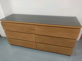 6 drawer chest of drawers - Delivery available