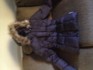 Girls size 14 down puffer jacket