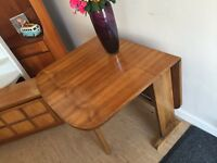 Lovely Art Deco Vintage Walnut drop Leaf table - CAN DELIVER