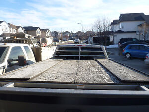 STF ALUMINUM SLED DECK FOR A 8 FT TRUCK BOX