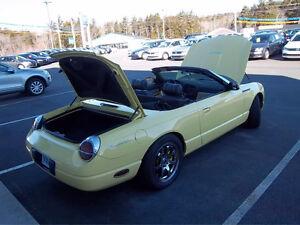 2002 Ford Thunderbird prenium Convertible