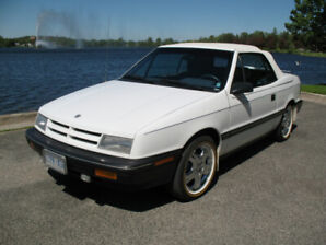 A 22,800  MILE ORIGINAL 1991 DODGE SHADOW Convertible A must see