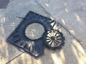 plastic fond de la valise pour Mercedes