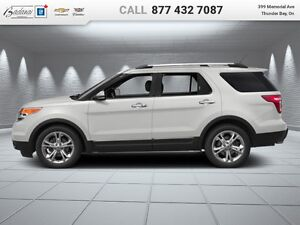 2014 Ford Explorer Limited  - Leather Seats -  Bluetooth - $256.