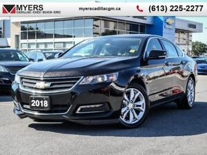 "2018 Chevrolet Impala LT  4CYL, REAR VISION CAMERA, 18"" ALLOYS,"