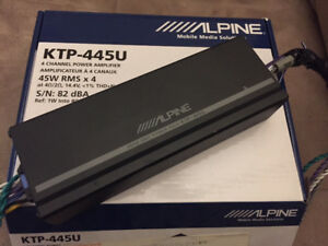 Alpine 4 Channel Compact Amplifier