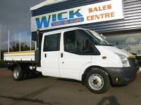 2010 Ford TRANSIT 350L D/CAB 100ps TIPPER *LOW MILES* Manual Tipper