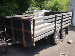 Utility trailer approx 6' * 10 ft. ($975.00)