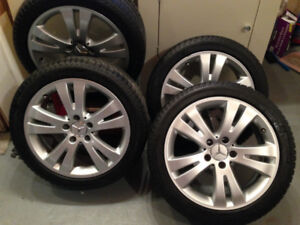4 Michelin Primacy Alpin Winter Tyres for Mercedes-Benz