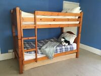 Lovely solid John Lewis bunk beds / 2 single beds