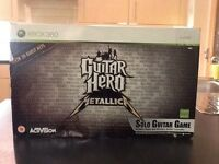 Guitar hero Metallica Xbox 360