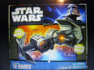 STAR WARS Imperial Tie Bomber  From Wal-Mart Strathcona County Edmonton Area image 1