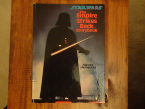 Star Wars The Empire Strikes Back Storybook 1980 edition