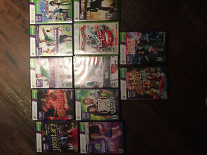 Multiple games x box 360 Kinect