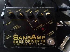 Sans Amp Bass Driver DI Perth Perth City Area Preview