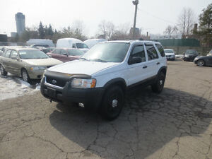 2004 Ford Escape XLT * 4x4 ~ Sunroof ~ CERTIFIED*