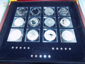 2013 F 15 FAMOUS SILVER COIN WORLD COIN SET 1 Oz CANADA