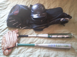 Very Cheap Baseball equipment and bags/Willing to sell seperate